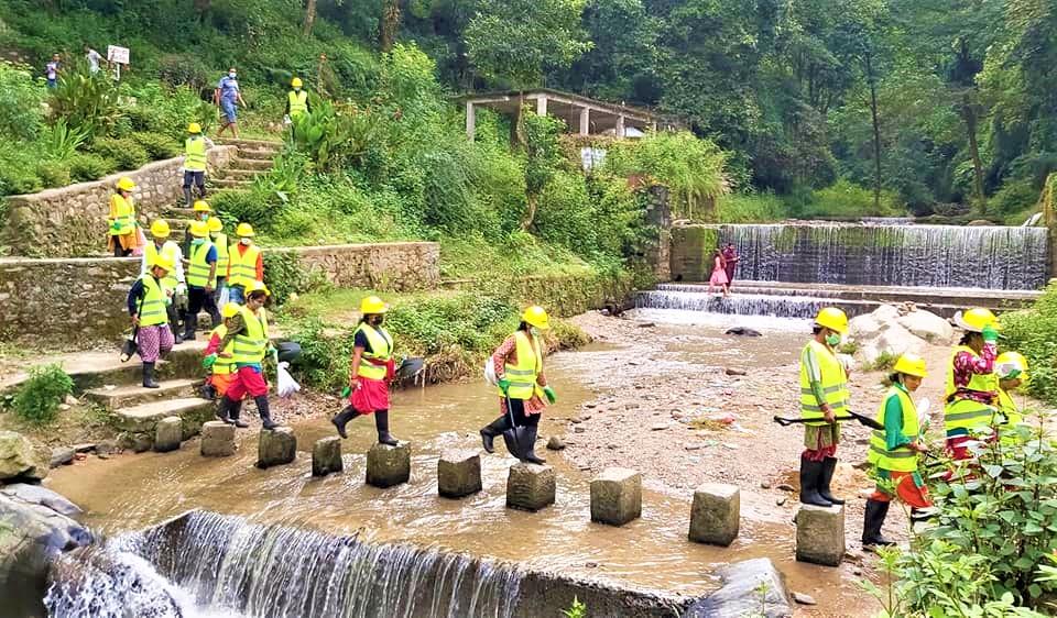 मुहानपोखरी – नगरकोट पर्यटकीय पदमार्गको निर्माण कार्य सुरु