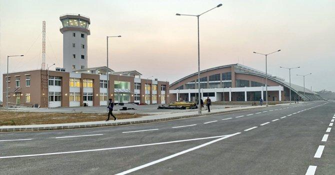 गौतम बुद्ध अन्तर्राष्ट्रिय विमानस्थलको परीक्षण उडान अनिश्चित, लुम्बिनी नजिकै भारतले बनायो विमानस्थल